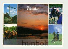 Puszta képeslap  (14,5X10,5 cm)