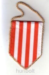 2147341895 5 szögletű autós árpádsávos zászló arany zsinórral - Magyaros termékek