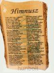 Himnusz - fatáblás falikép