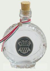 Boros üvegkulacs ón Erdély címerrel 1 dl