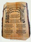 Székely Himnusz - fatáblás falikép