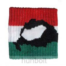 Nemzeti színű, Nagy-Magyarországos csuklószorító