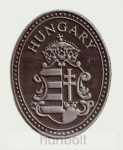 Ón Kossuth címer autós öntapadó matrica (6X4,5 cm)