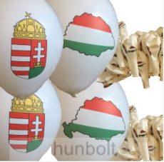 Magyar címeres és Nagy-Magyarországos léggömb