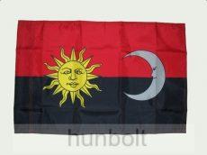 Székely motoros harci zászló 25X35 cm