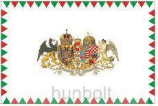 Farkasfogas Osztrák Magyar Monarchia zászló