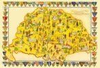 Nagy-Magyarország puzzle 60db