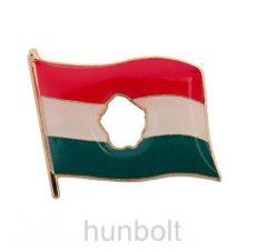 Óriás lyukas zászló (25x22 mm) arany színű