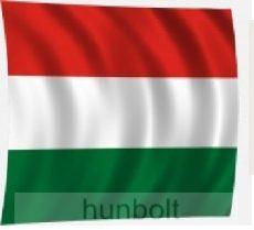 Nemzeti színű zászló 150x300 cm, 4 karabínerrel