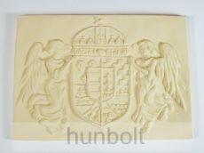 Kicsi angyalos címer műkő (30x21 cm)