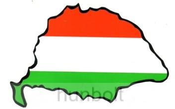 Nagy-Magyarország piros-fehér-zöld autós matrica (14x8 6100440cec