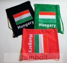 924453b4aa Zászlós táska, tornazsák különböző színben - Magyaros termékek