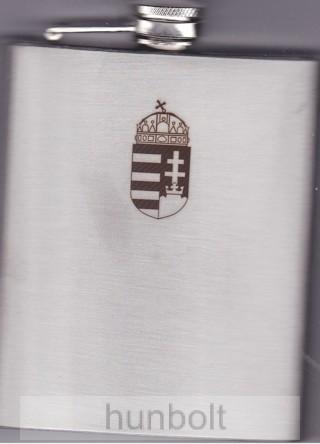 6016a7434c Gravírozott címeres flaska 200 ml - Magyaros termékek