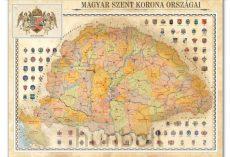 Magyar Szent Korona országai plakát  65x86,5 cm