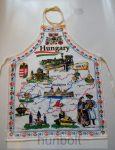Magyarország térképes kötény hossza:62cm, szélessége: 51cm