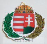 Koszorús címeres matrica