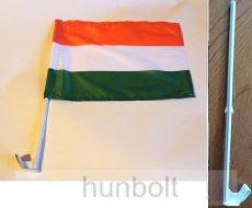 Autós nemzeti  25x35 cm zászló, ablakra tűzhető