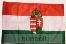 Vékony műszálas szurkolói  60x90 cm nemzeti címeres zászló