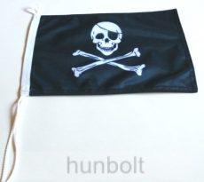 Kalóz  2 oldalas hajós zászló ( 20X30 cm)