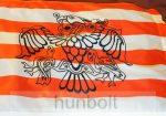 Árpád sávos fekete rakamazi zászló 60x90 cm