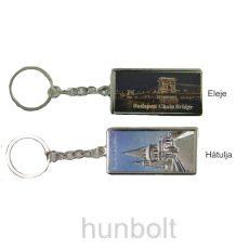 Budapest kulcstartó sorozat, gravírozott hatású, 6 db (darabára bruttó 420 Ft)