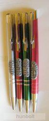 Fém toll ón Budapest matricával