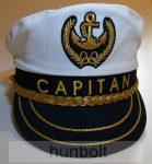 Kapitány arany zsinóros, állítható sapka