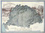 Magyarország hegyrajzi és vízrajzi térképe (Pokorny Tódor 1898)
