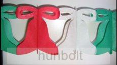 Harang papír girland