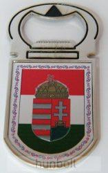 Sörbontó hűtőmágnes - Címeres