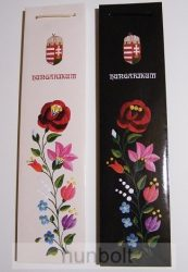 Italos címeres dísztasak Hungarikum felirattal, két színben 7x9,5X37 cm