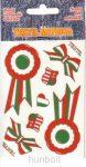 Textil kokárdák (12x8,5 cm)