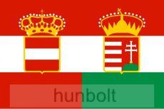 Ausztria-Hungary polészter zászló 60x90 cm