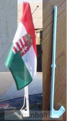 címeres autós zászló