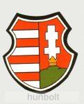 Kossuth címer matrica