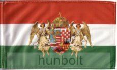 Nemzeti színű barna angyalos zászló