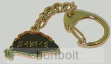 Rovás Hazám kulcstartó (22 mm)