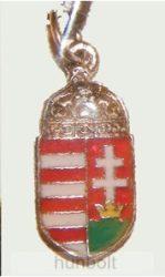 Címeres nyaklánc bőrszíjjal (12x25 mm)