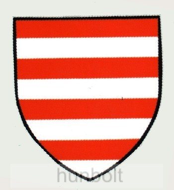 Árpádsávos pajzs matrica (7 a739125586