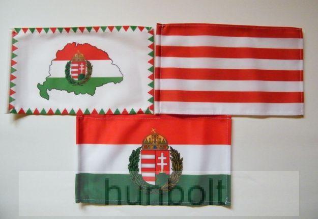 3 db kis zászló (15x25 cm) IV.