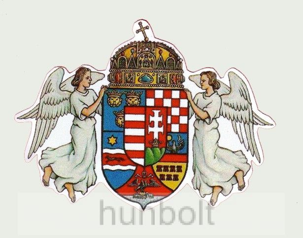 Fehér angyalos külső matrica 29X21 cm