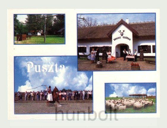 Bugaci képeslap (14,5X10,5 cm)