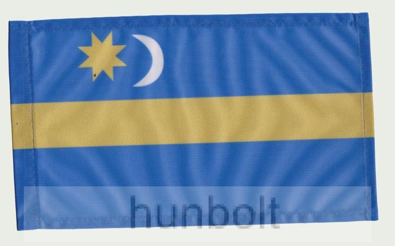 Székely zászló II 40x30cm, 60 cm-es farúddal
