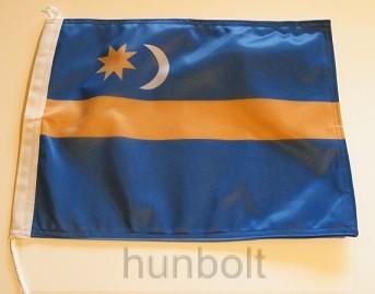 Székely zászló II 40x30cm 2 oldalas zsinoros