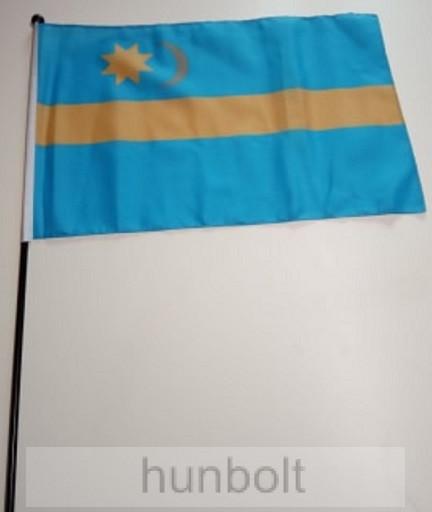 Székely zászló II 40x30cm, műanyag rúddal