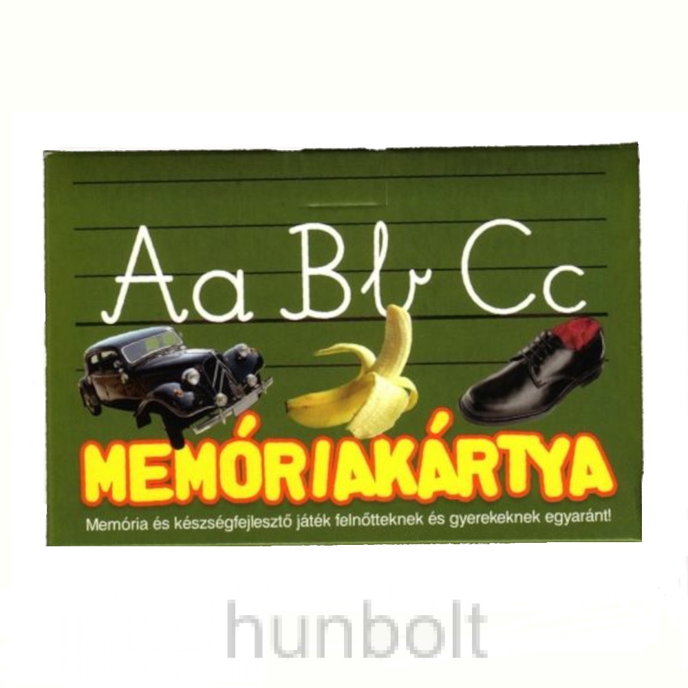 ABC memóriakártya