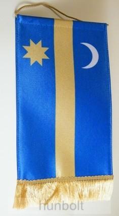 Asztali Székely zászló 15X26,5 cm