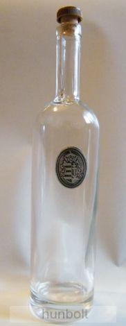 Ón koszorús címeres hosszú borosüveg dugóval 750 ml
