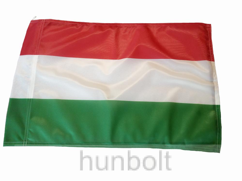 Nemzeti színű, hurkolt poliészter, kültéri zászló 100X200cm