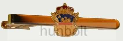 Erdély címeres nyakkendőcsipesz